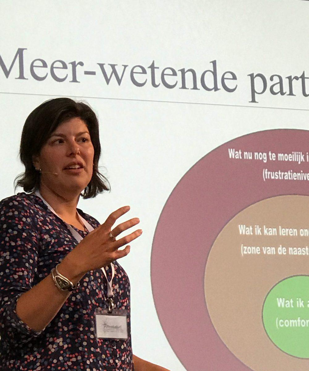 Anke van der Bor spreker lezing