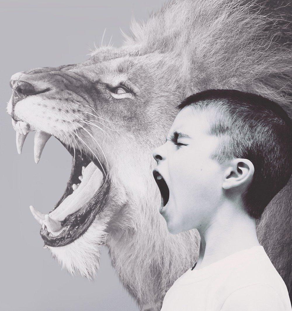 boos kind schreeuwen