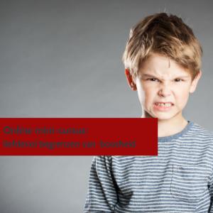 cursus bij boos kind